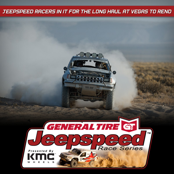 Jeepspeed Racers In It For The Long Haul At Vegas To Reno