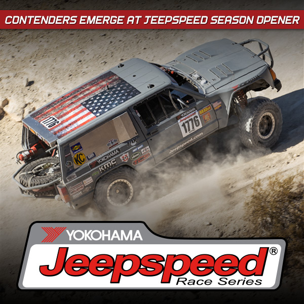 Contenders Emerge At Yokohama Jeepspeed Race Series Season Opener