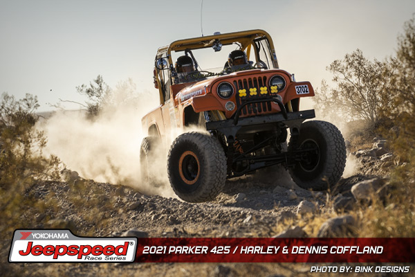 Jeepspeed, Harley Coffland, Dennis Coffland, Parker 425