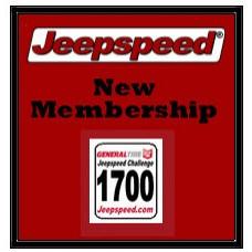 Jeepspeed New Annual Membership